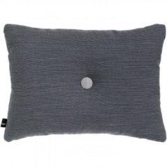 Antraciet-grijze Hay Cushion Dot Surface kussen-Antraciet