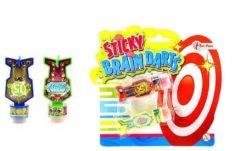 Massamarkt Sticky figuur dart op blisterkaart