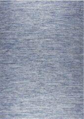 Disena Blauw vloerkleed - 160x230 cm - Effen - Landelijk