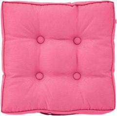 Roze Dutch decor matraskussen sunny mk2 43x43x8 cm fuchsia
