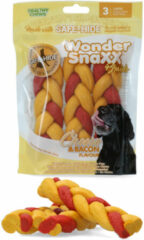 Wonder Snaxx Braid - Hondensnacks - Kaas Bacon 16 cm