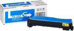Blauwe Kyocera TK-540 tonercartridge cyaan standard capacity 4.000 pagina's 1-pack
