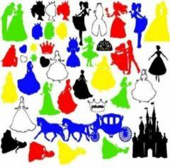 FlexMade.nl Raamfolie Prinsessen