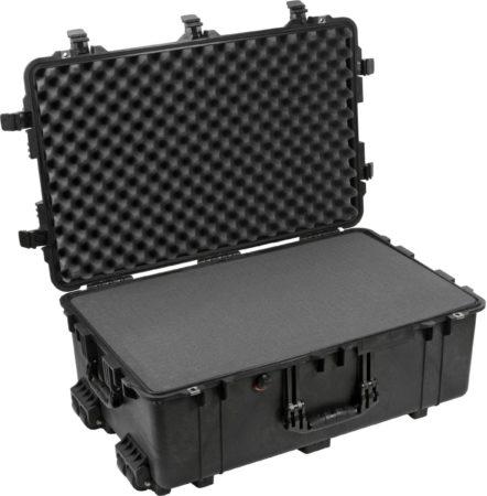 Afbeelding van PELI Outdoor-koffer 1650 86 l (b x h x d) 801 x 317 x 521 mm Zwart 1650-020-110E