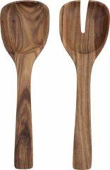 Bruine Villeroy & Boch Artesano Original Slabestek - 2 delig - Hout