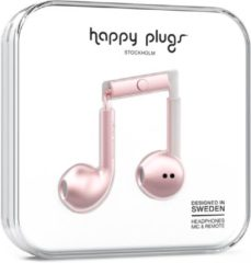 Paarse Happy Plugs Earbud Plus - In-ear oordopjes - Rozegoud