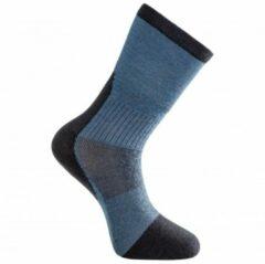 Woolpower - Socks Skilled Liner Classic - Multifunctionele sokken maat 36-39, blauw/zwart