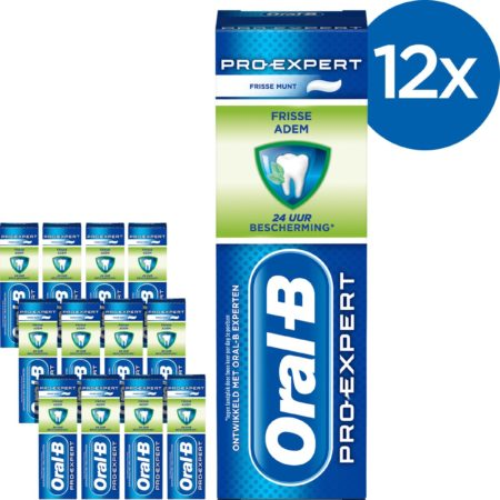 Afbeelding van Oral-B Oral B Pro-Expert Gezond Fris - Voordeelverpakking 12x75ml - Tandpasta