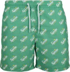 Groene Merchcode Zwemshorts - Sprite - Retro - Logo - Zwembroek