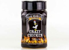 Don Marco's Barbecue Don Marco's - Crazy Chicken - BBQ RUB - 220 gram