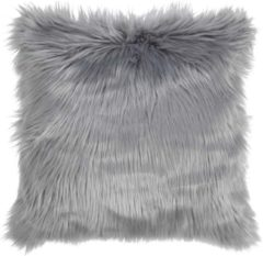 Roestvrijstalen Dutch Decor Kussenhoes Mees 45x45 cm mist