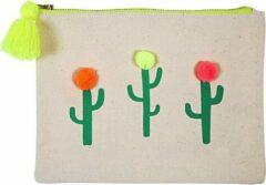 Naturelkleurige Meri Meri Cactus Tasje