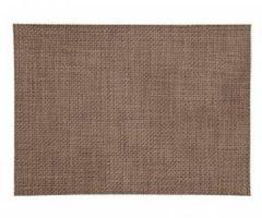 Merkloos / Sans marque Placemat gevlochten bruin 45 x 30 cm