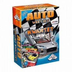 Identity Games Auto Weetjes Kwartet - Kaartspel