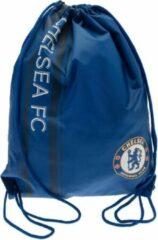 Blauwe Chelsea FC Unisex Adult Drawstring Bag (Blue)