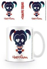 Witte SUICIDE SQUAD HARLEY QUINN SKULL Mugs