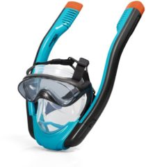 Blauwe Bestway Hydro-Pro Flowtech Snorkel Masker S/M