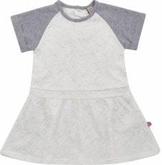 Witte Minymo Baby Jurk Maat 92