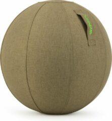 Wobbleez Wobblez Zitbal Olive 65cm| Ergonomisch werken aan je bureau zonder last van je onderrug