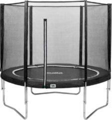Antraciet-grijze Top Twence Salta Combo 213 cm Antraciet - Trampoline
