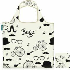 Witte Bagz Gentleman 1094610 opvouwbare tas gemaakt van gerecycled plastic