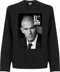 Zwarte Retake Zidane El Jefe Sweater - M