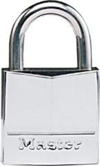 Zilveren MasterLock 639EURD - Hangslot - Vernikkeld Massief Messing - 30 mm