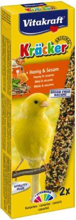 Afbeelding van Vitakraft Honingkracker 2 in 1 Kanarie - vogelsnacks - Snacks - 60gram