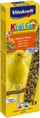 Vitakraft Kanarie Kracker 2 stuks - Vogelsnack - Honing