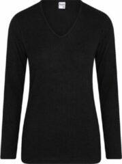 Beeren dames Thermo shirt lange mouw 07-086 zwart-XL
