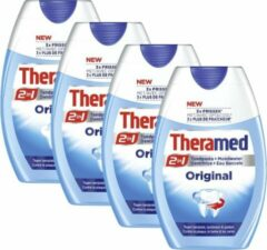 Theramed Tandpasta Original 4 x 75 ml