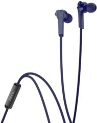 HOCO M72 Admire In-Ear Oordopjes - 3,5mm Audio-Jack Plug - 120cm Kabel - Hi-Res Audio + HD Microfoon - Blauw