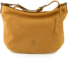 Borsa donna tracolla in pelle Timberland M5227 miele 919 Made in Italy