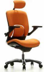 Hjh office Vapor Lux - Bureaustoel - Oranje