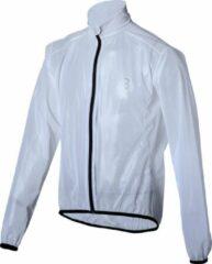 BBB Cycling StormShield Fietsjas BBW-281 - Unisex Fietsjack Maat XL - Transparant