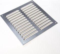 Zilveren Gavo Schoepenrooster aluminium 25 x 25cm