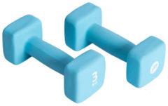 Blauwe Pure 2 Improve Neoprene Dumbbell 2 X 3 kg
