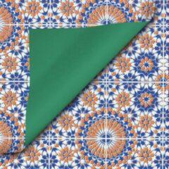 Keijzer Papier Cadeaupapier inpakpapier geschenkpapier rol Luxe Duo 30 centimeter x 200 meter