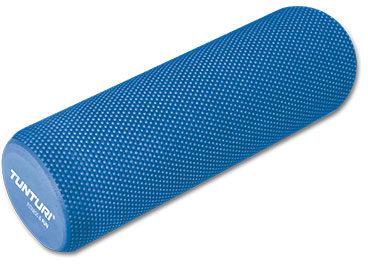 Afbeelding van Blauwe Tunturi Yoga massage roller - Foam roller - Yoga roller- EVA - 40 cm