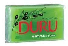Groene DURU Zeeptablet DURU Olijfzeep 180 gram