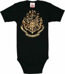 Zwarte Logoshirt Baby Rompertje Maat 86/92