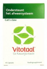 Vitotaal Cat's Claw 45 vegicaps