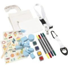 Creotime Textiel Materialenset 26-delig Multicolor