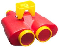 Rode Swing King Speelgoed verrekijker rood en geel 2552029