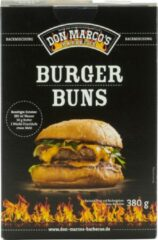 Don Marco's Barbecue Don Marco's Burger Buns – Broodmix – BBQ – 380 gram