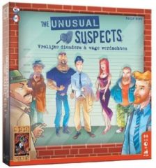 999 Games bordspel The Unusual Suspects 22,7 x 22,7 x 4,7 cm