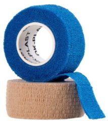 OK-Plast zelfklevend verbandgaas GoForm huidkleur en blauw