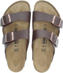 Bruine Birkenstock Men's Arizona Double Strap Sandals - Dark Brown - EU 43/UK 9 - Brown
