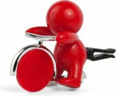 Mr&Mrs Fragrance Mr&Mrs autoverfrisser Gino Rood - Pepper Mint