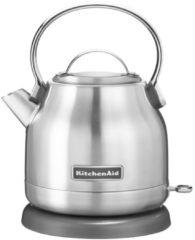 Zilveren KitchenAid Classic waterkoker 1,25 liter 5KEK1222 - Roestvrij Staal
